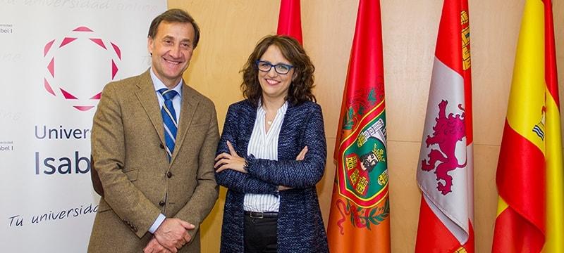 Firma con la Asociación de la Prensa de Burgos