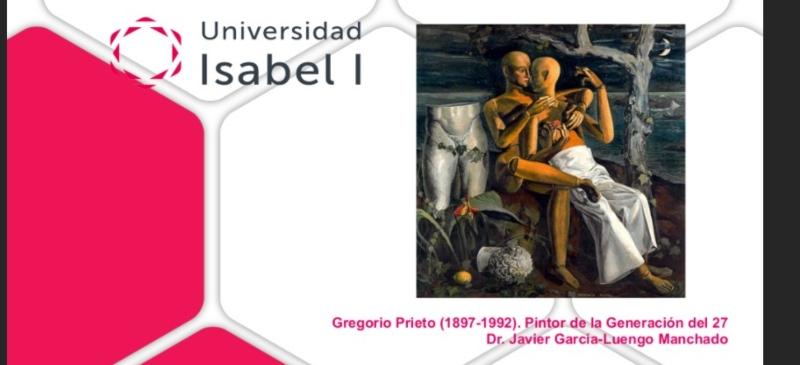 Presentación del webinar sobre Gregorio Prieto