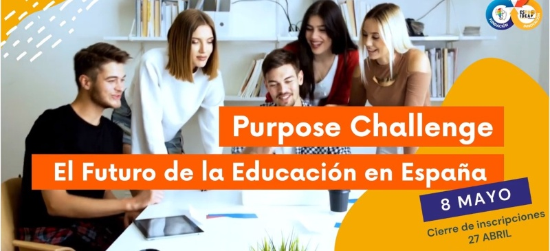 Captura del vídeo de presentación del Purpose Challenge
