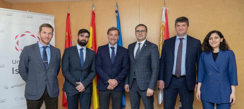 La Universidad Isabel I y la Universidad North Ossetian de Rusia firman un convenio de colaboración