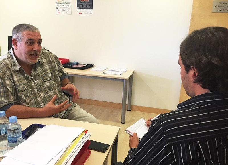 El profesor del Grado en Derecho de la Isabel I, Ricardo Gómez