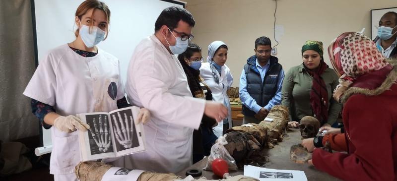 Trabajo de Ricardo Ortega en Egipto.