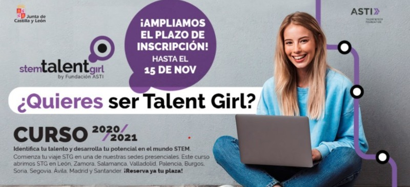 Programa de anuncio de Stem Talent Girl