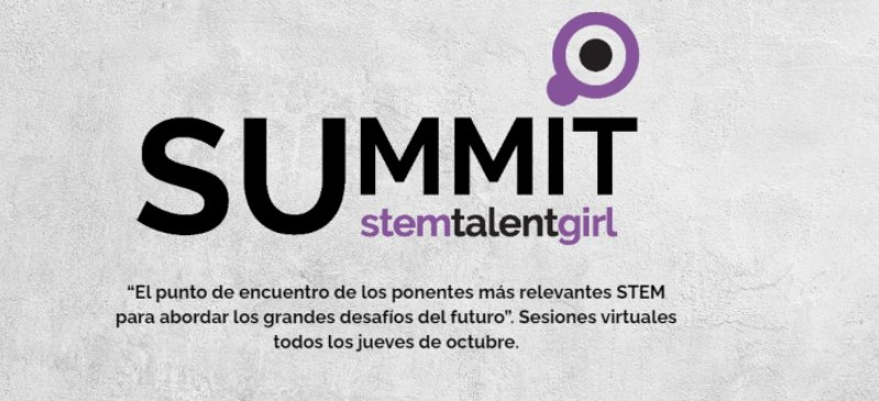 Logotipo de la página del programa summit de Stem talent gril