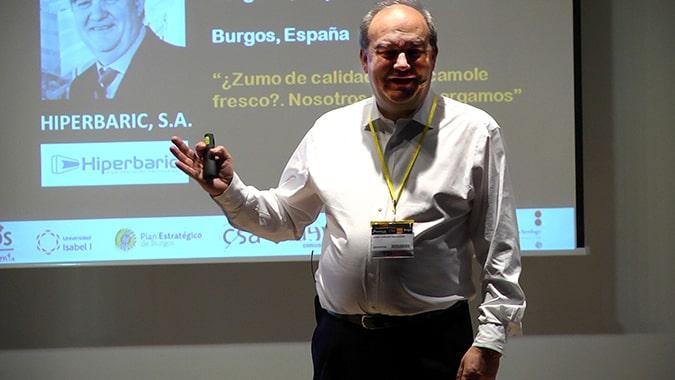 Andrés Hernando, director general de Hiperbaric y miembro del Consejo Científico Asesor de la Universidad Isabel I, participa en el TechDay60