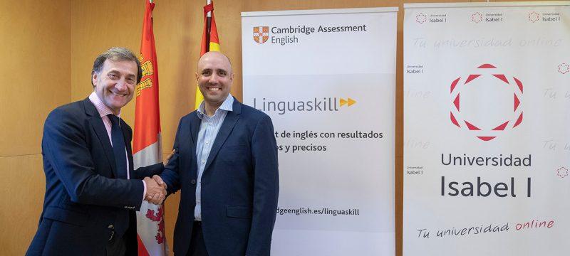 La Universidad Isabel I se convierte en agente de Linguaskill