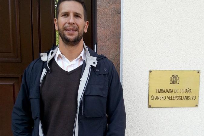 Carlos Javier López, profesor del Grado de Criminología