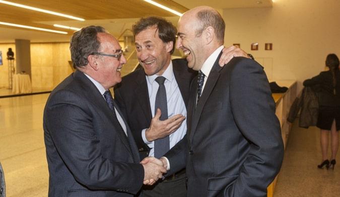El rector de la Universidad Isabel I, Alberto Gómez Barahona, asiste a la gala del 125 aniversario del Diario de Burgos
