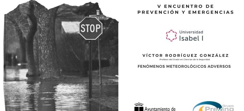 Comparecencia de Víctor Rodríguez en el V Encuentro de Prevención y Emergencias