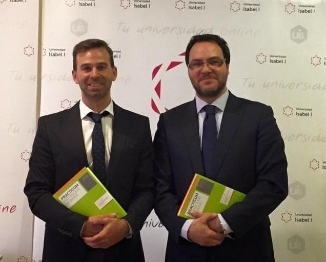 Víctor Cazurro Barahona y Javier Álvarez Hernando