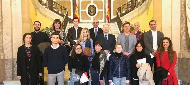 La Universidad Isabel I visita el Tribunal Supremo