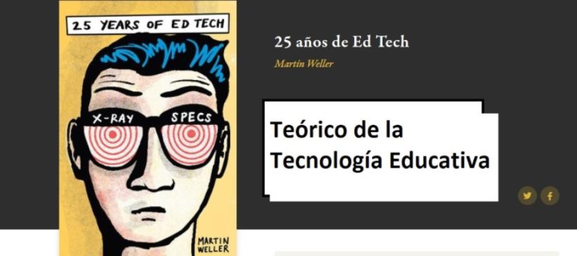 Imagen de la portada del libro 25 años de tecnología educativa