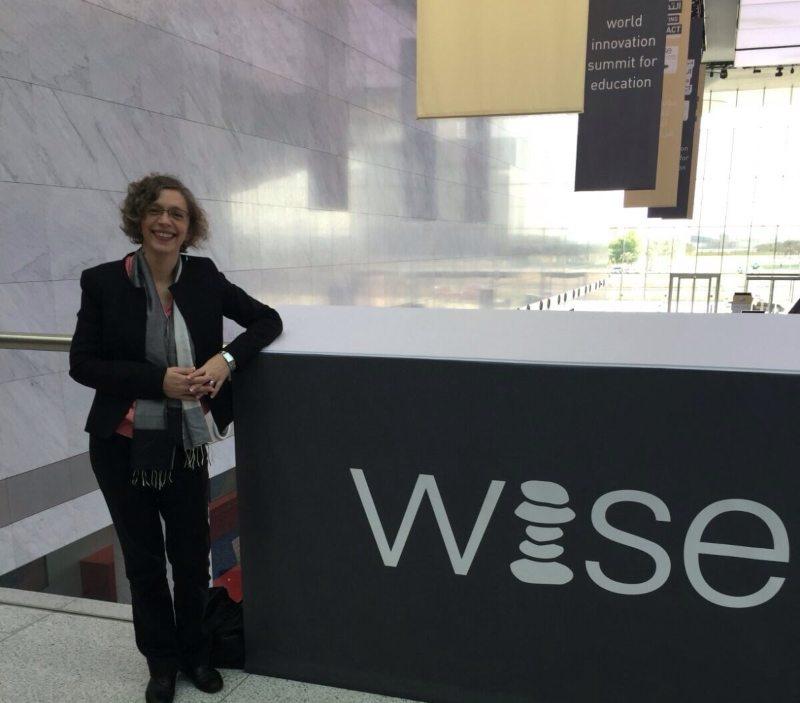 Marta Buján, en la cumbre WISE