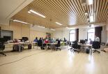 Planta 1: Sala de docentes Universidad Isabel I