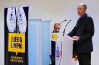 Franciso Javier Martín del Burgo, director del Programa y presidente del Consejo Científico Asesor de la Universidad Isabel I, durante su intervención