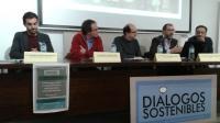 Marcos García Diez (segundo por la izquierda), en los Diálogos Sostenibles del Centro UNESCO